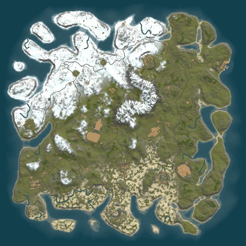 GameLand carte procédural Mars 2021