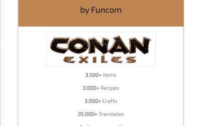 CraftPedia.net – Conan Exiles